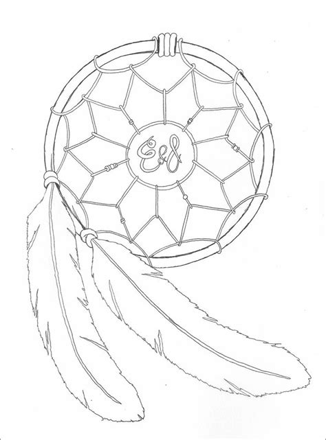 native american tattoo designs drawings   DreamCatcher by