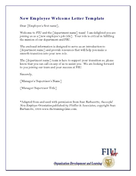 new employee welcome letter new employee welcome letter fill printable 31539