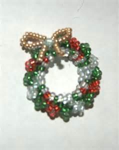 beaded wreath by jupitergurl on deviantart