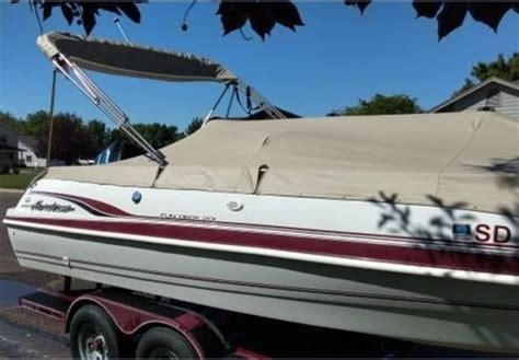 1993 Godfrey Hurricane Deck Boat by 1993 Hurricane By Godfrey Marine Fd 240 Deck For