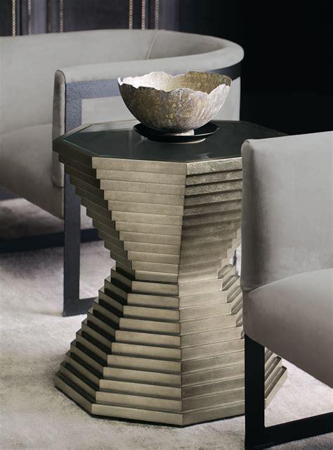 mosaic  table zola chair bernhardt