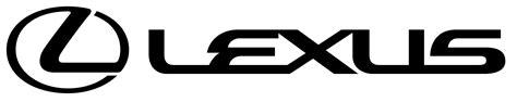 lexus logo black lexus logo transparent png stickpng