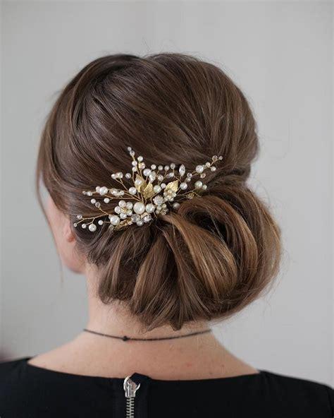 Updo Wedding Hairstyles For Medium Length Hair by 25 Best Ideas About Medium Wedding Hairstyles On
