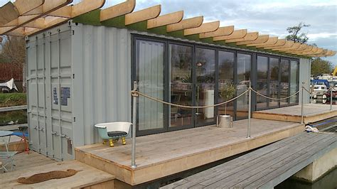 Shipping A Boat Cost by Floating Shipping Container Makes Ideal Low Cost Home