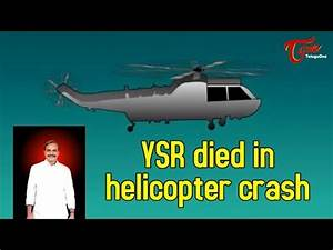 YSR died in helicopter crash - YouTube