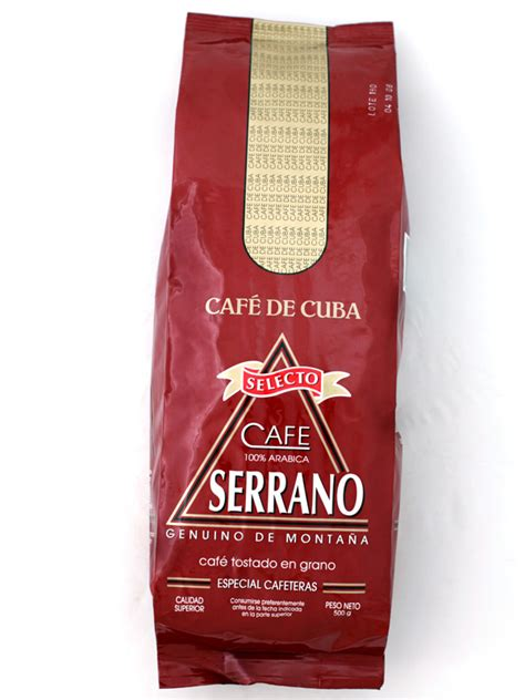 %name What Is Cuban Coffee   Buy Serrano Selecto Roasted & Ground 500g   Hancock & Abberton