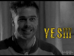 Happy Brad Pitt GIF - Find & Share on GIPHY