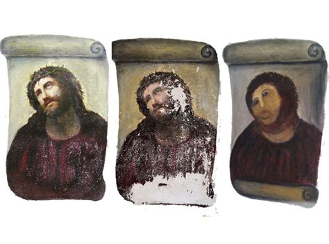 Jesus Painting Restoration Meme - woman who botched jesus restoration wants royalties oh no they didn t page 5