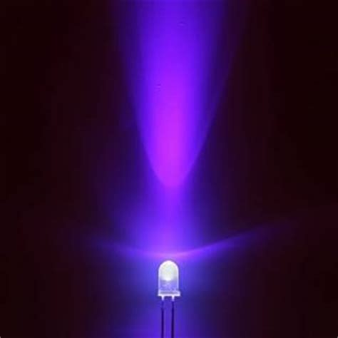 super bright 3mm or 5mm ultra bright uv ultra violet