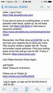Oops: Trump surrogate gives Arizona supporters wrong ...