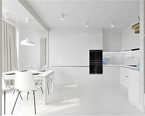 White, U0026, Grey, Interior, Design, In, The, Modern, Minimalist, Style