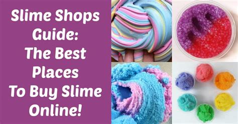 Slime Shops Guide Where To Buy Slime Online  Diy Candy