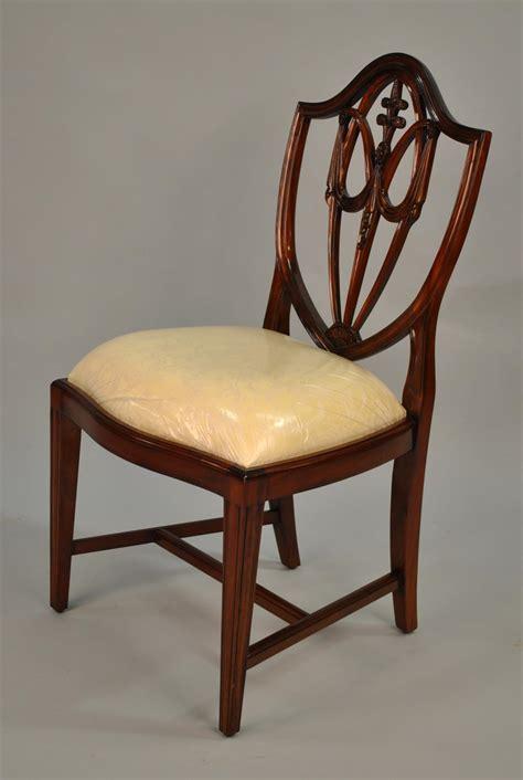 mahogany shield  dining chairs shield  dining chairs