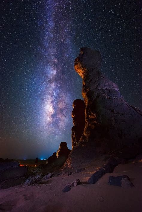 Night With The Milky Way Fribly