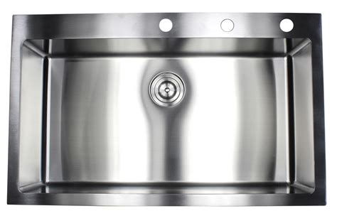 what to do when kitchen sink is clogged 36 inch top mount drop in stainless steel single bowl 2243