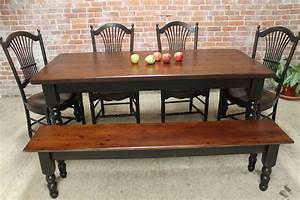 Rustic Farm Table - ECustomFinishes
