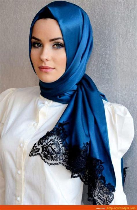 gaya hijab ala turki kekinian  nggak  kamu