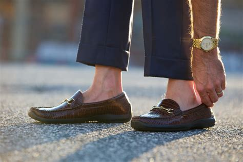 Mens Fashion Boat Shoes With Socks by Socks Or No Socks He Spoke Style