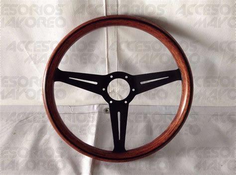 volante tipo volante tipo nardi de madera excelente acabado lleva
