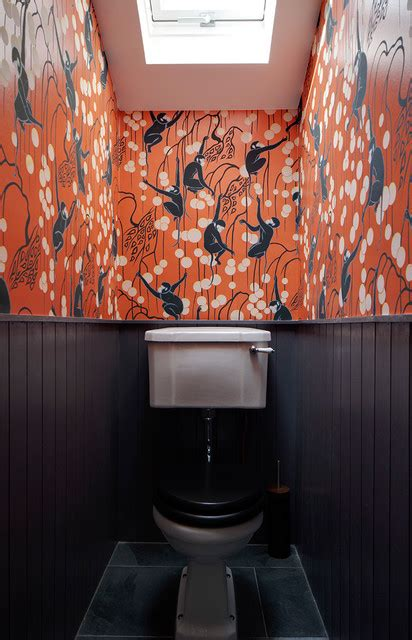 London Fields House  Eclectic  Powder Room  London By