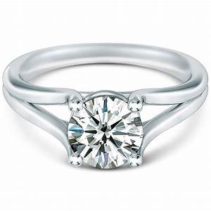 Split shank engagement ring for Split shank engagement ring with wedding band