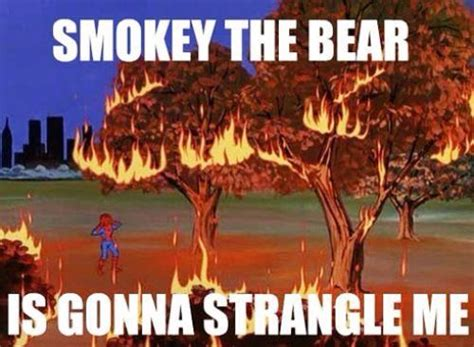 Smokey The Bear Meme - 56 best best of the 60s spiderman meme images on pinterest funny pics spiderman meme and