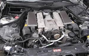 2002 Mercedes C32 Amg Kompressor Engine  Transmission With