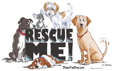 draw  dog awesome cartoon drawings rescue groups