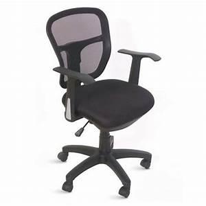 Chaise De Bureau Ergonomique Et Confortable En Tissu