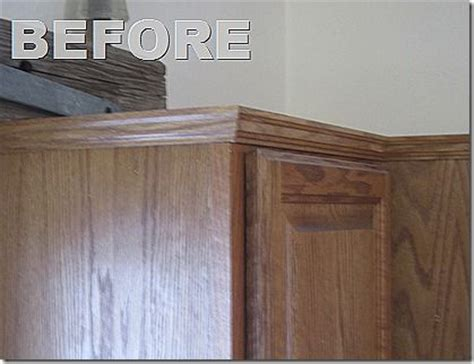 kitchen cabinet side panels molding and side panel to update kitchen cabinets for