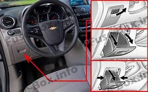 Fuse Box Diagram Chevrolet Orlando  J309  2011