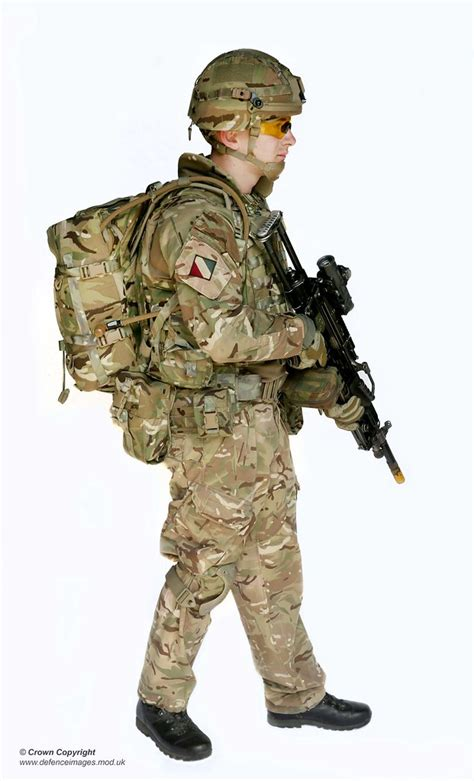 pictured   side view  soldier wearing full virtus bod flickr