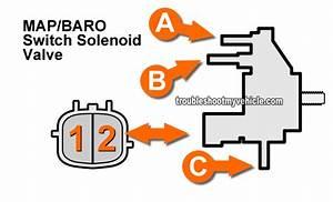 Part 1  Baro Pressure Solenoid Test  1996