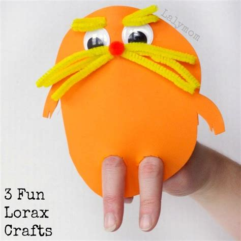 3 hilarious dr seuss lorax craft ideas for 293 | 3 Fun Preschool Crafts Inspired by the Dr. Seuss Book The Lorax Click through to see more Seuss ideas