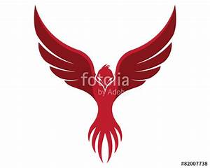 """""""Flying Phoenix"""" Stock image and royalty-free vector files ..."""