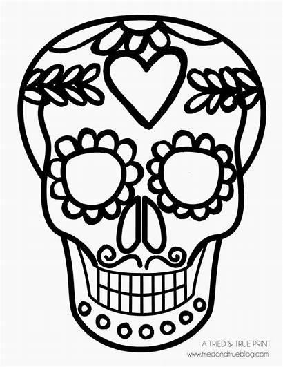 Halloween Heart Easy Diy Skull Dead Mask