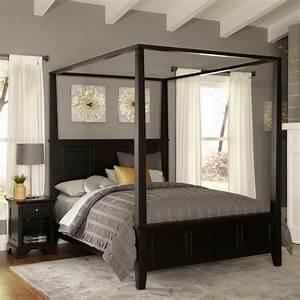 Lit romantique 50 idees interessantes pour un lit baldaquin for Idee deco cuisine avec lit king size