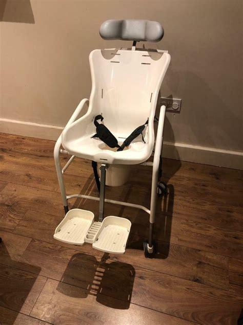 swan r82 lap commode footrest headrest belt chair