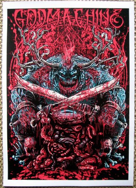 Godmachine?s posters kinda scare me a bit ? Hide Your Arms