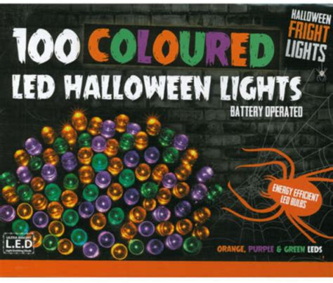 halloween partyprop multi coloured string lights