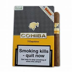 Cohiba Exquisitos Cigar - Pack of 5