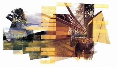 Collage Architecture Miralles Arquitectura Enric Parliament Architectural