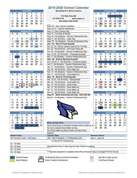 district calendar district calendar