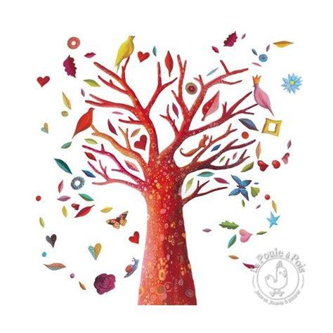 chambre a air trottinette stickers l 39 arbre à poèmes décoration chambre djeco