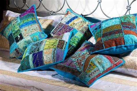 buy onlinedecorative patchwork pillow coversdecorative
