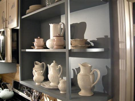 Built In Open Kitchen Shelving by How To Build Open Style Kitchen Shelves Hgtv