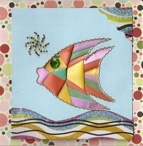 iris folded tropical fish iris folding pattern iris