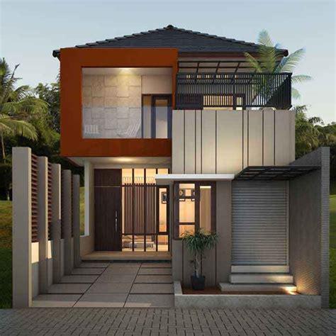 model desain rumah minimalis  lantai memiliki sebuah