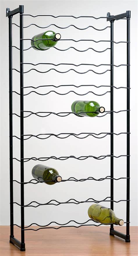 wire wine racks 51 bottle elegance wire wine rack