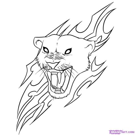 cool pictures  draw   draw  jaguar step
